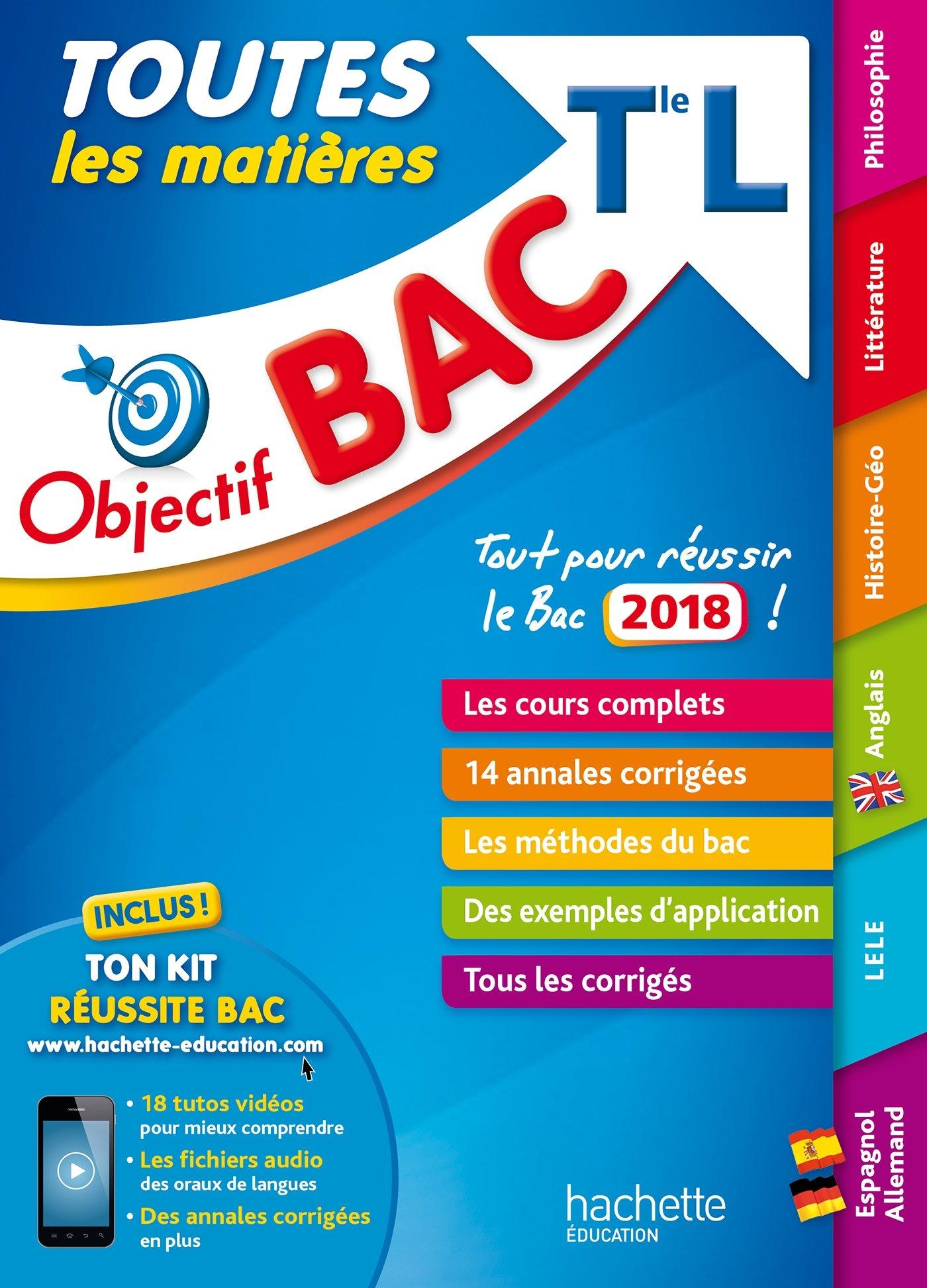 Objectif Bac L 2018