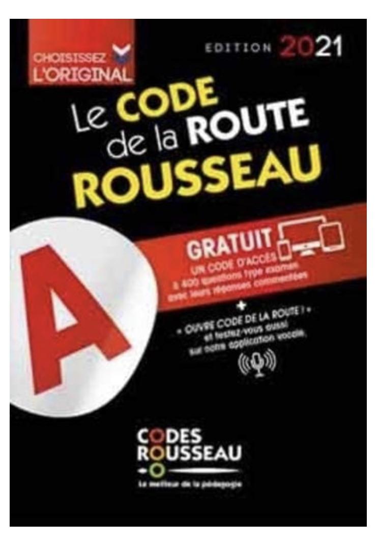 Code Rousseau de la route B 2021