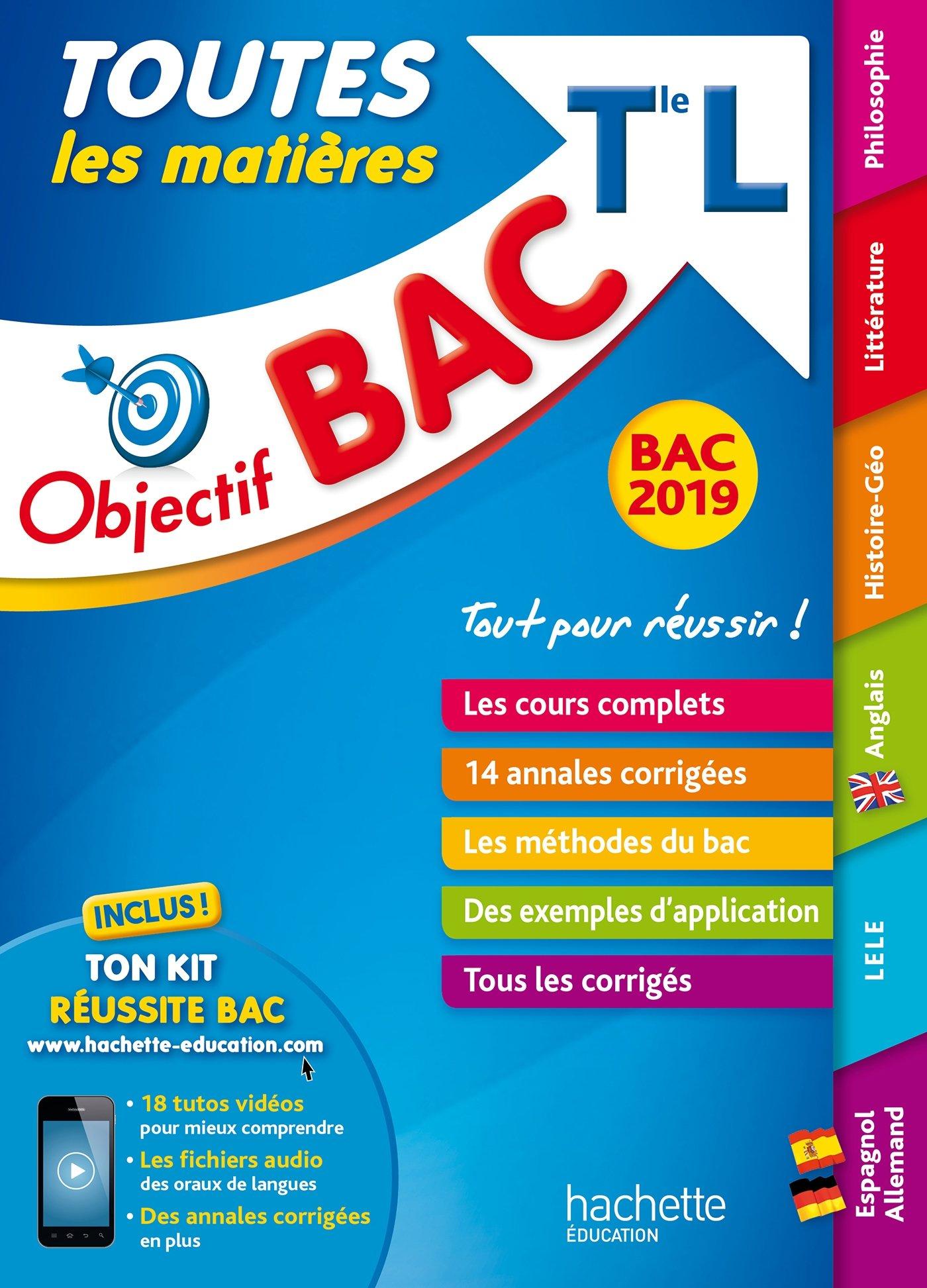 Objectif Bac L 2019